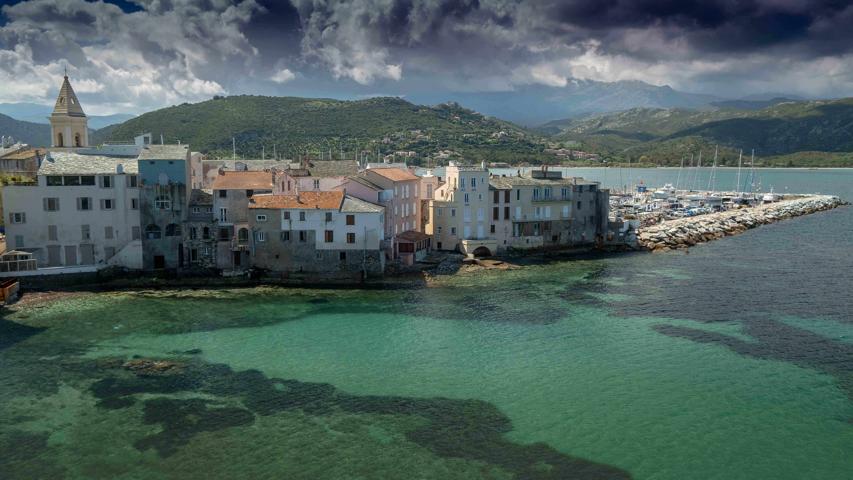 Le village de Saint Florent en Haute Corse