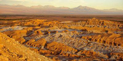 Vallée de la Lune à Atacama au Chili