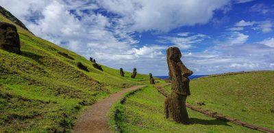 Rano Raraku à l'île de Paques