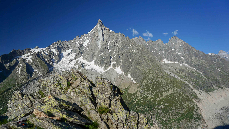Face Ouest des Drus à Chamonix