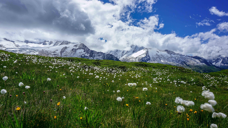 A l'Aiguille des Posettes en direction du Glacier d'Argentières