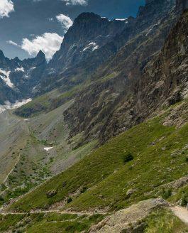 Glaciers Noir et Blanc