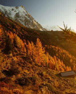 Au pied des aiguilles de Chamonix