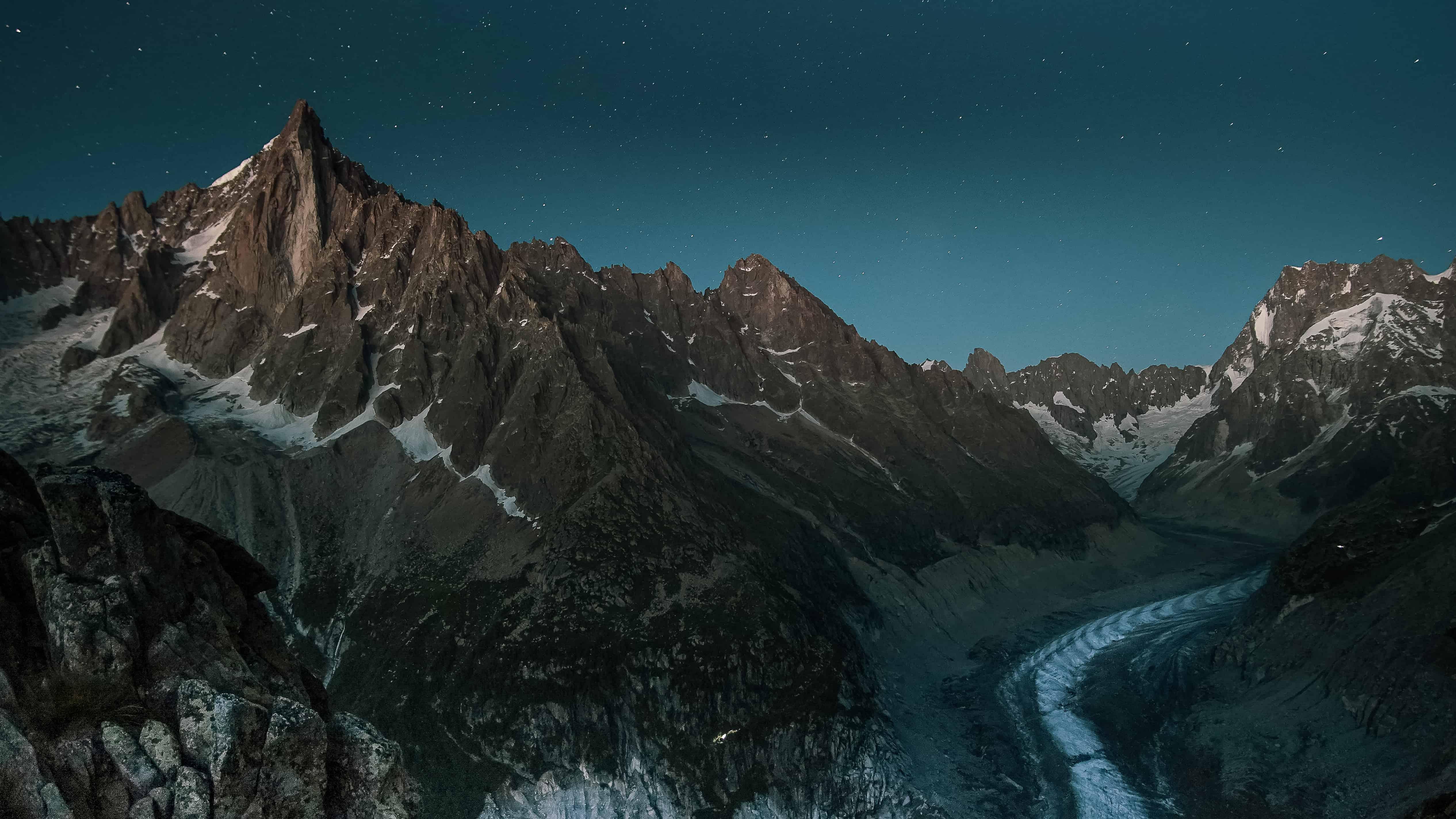 Mer de glace depuis le Signal Forbes - Chamonix