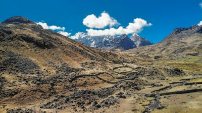 Massif de l'Ausangate au Pérou