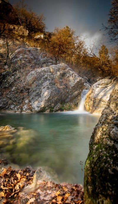 Cascade de Mezien