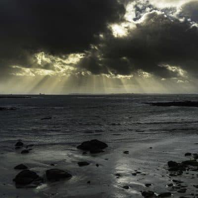 Ambiance hivernale dans le Finistère
